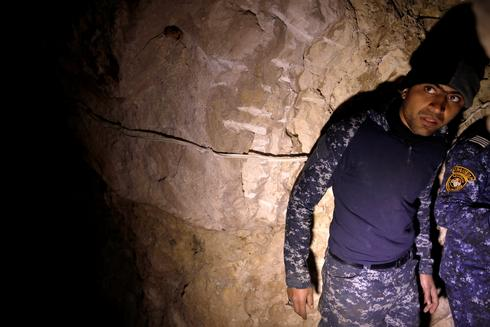 Inside the escape tunnels of Islamic State
