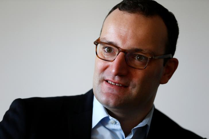 German Deputy Finance Minister Jens Spahn speaks during an interview with Reuters in Berlin, Germany October 4, 2016.    REUTERS/Joachim Herrmann
