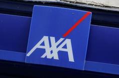 Axa France, filiale d'Axa, a démenti lundi des informations de presse selon lesquelles un audit aurait été lancé sur les activités de sa banque en ligne Axa Banque. /Photo d'archives/REUTERS/Jacky Naegelen