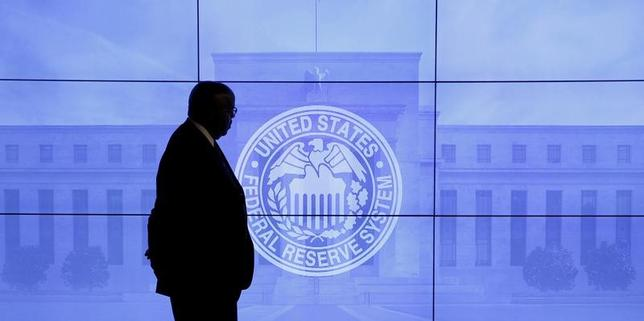 2月27日、ダラス連銀のカプラン総裁は、米FRBによる早めの利上げが賢明との考えを示した。写真はワシントンで昨年3月撮影(2017年 ロイター/Kevin Lamarque/File Photo)