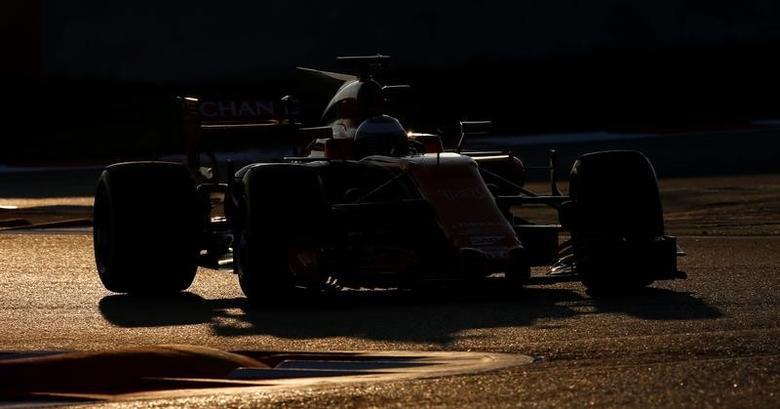 Formula One - F1 - Test session - Barcelona-Catalunya racetrack in Montmelo, Spain - 27/2/17. McLaren's Fernando Alonso in action. REUTERS/Albert Gea -