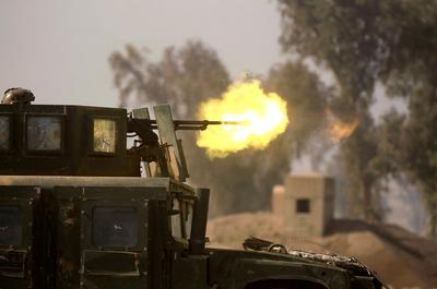Iraqi forces advance deeper into Mosul