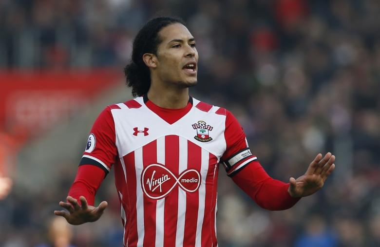 Football Soccer Britain - Southampton v Leicester City - Premier League - St Mary's Stadium - 22/1/17 Southampton's Virgil van Dijk Action Images via Reuters / Paul Childs/ Livepic/ Files