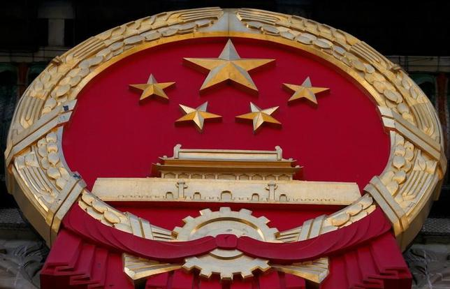 3月3日、中国は5日から全国人民代表大会(全人代、国会に相当)を北京で開幕する。総勢3000人弱の代表が一堂に会して約10日間の日程で開かれる。ポイントをまとめた。写真は北京で2日撮影(2017年 ロイター/Thomas Peter)
