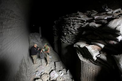 Islamic State's underground training camp
