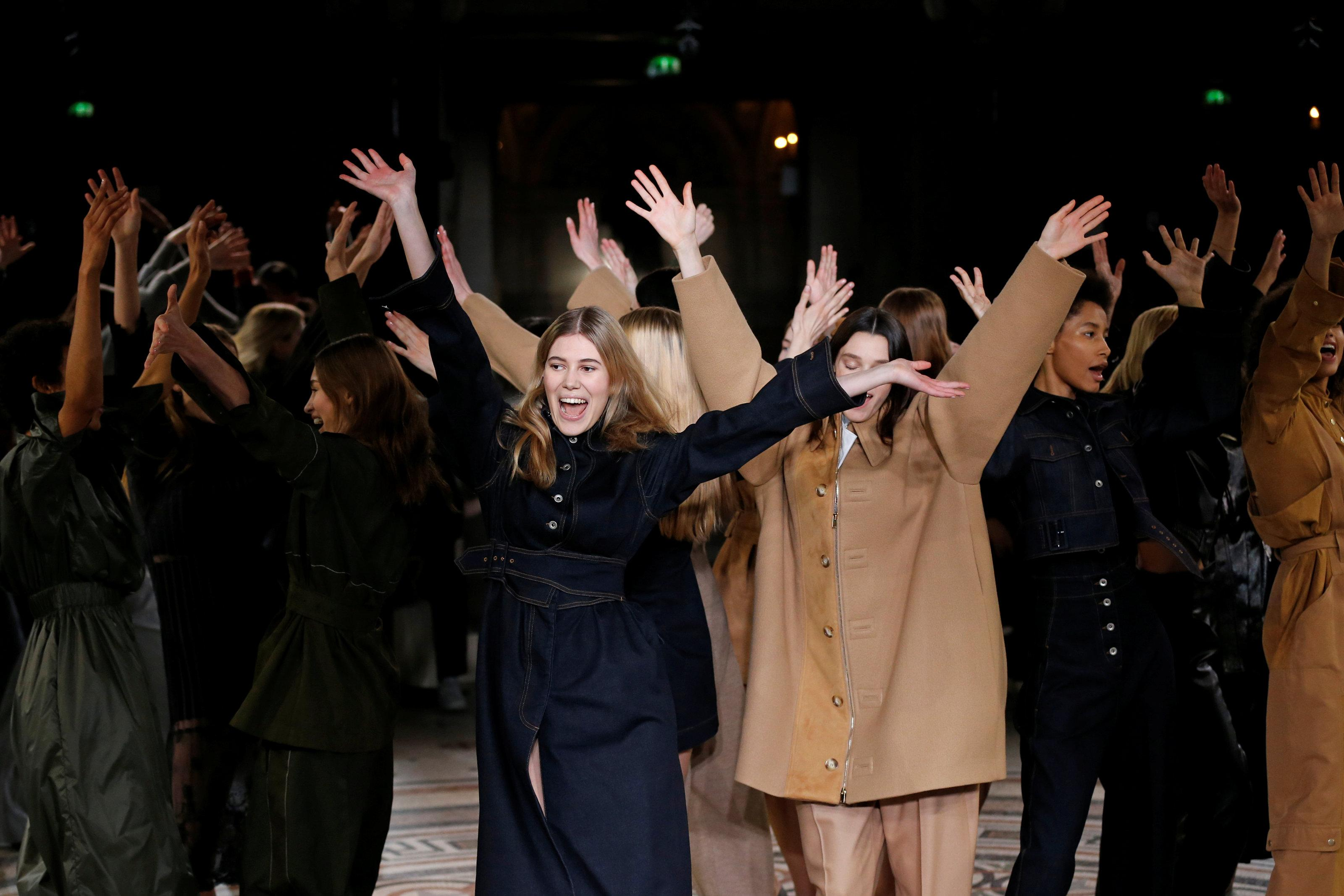 37397ec65a Stella McCartney brings dance to Paris Opera for fashion week - Reuters