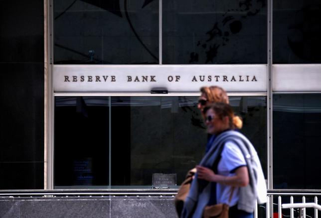 3月7日、オーストラリア準備銀行(RBA、中央銀行)は、政策金利のオフィシャルキャッシュレートを過去最低の1.50%に据え置くことを決定した。据え置きは8カ月連続。写真はRBAシドニー本部。で昨年10月撮影(2017年 ロイター/David Gray)
