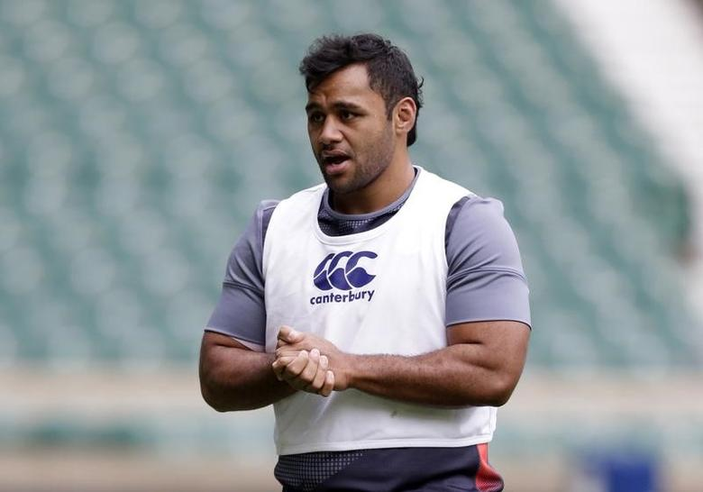 Britain Rugby Union - England Training - Twickenham Stadium - 18/11/16 England's Billy Vunipola during training Action Images via Reuters / Henry Browne Livepic