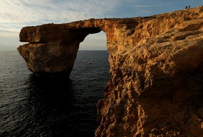 Malta's Azure Window collapses into sea