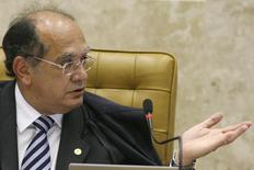 Presidente do TSE, Gilmar Mendes 18/11/2009 REUTERS/Roberto Jayme