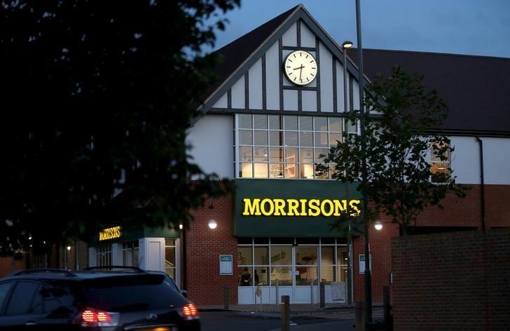 A Morrisons supermarket is seen in Weybridge, Britain, August 19, 2016.  REUTERS/Peter Nicholls/File Photo