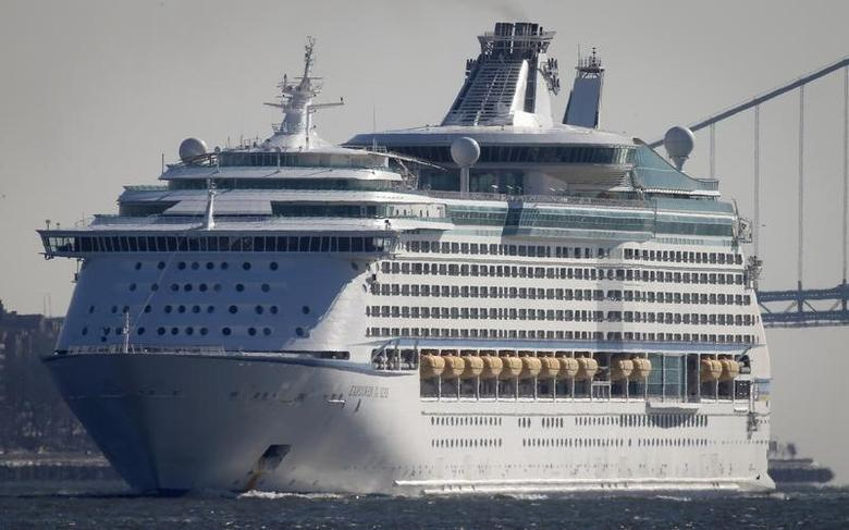 The Royal Caribbean's cruise ship Explorer of the Seas arrives back at Bayonne, New Jersey January 29, 2014.  REUTERS/Carlo Allegri