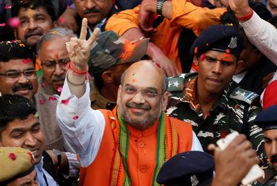 Landslide win for BJP in Elections 2017