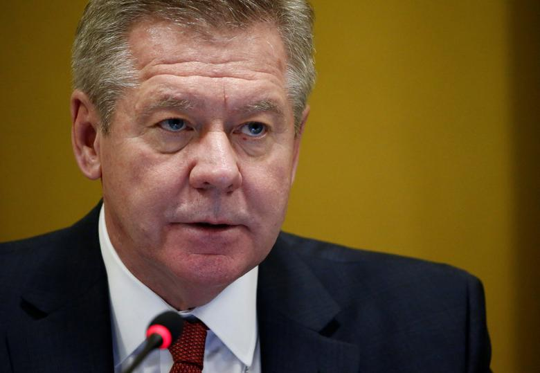 Russian Deputy Minister of Foreign Affairs Gennady Gatilov addresses the Conference on Disarmament at the United Nations in Geneva, Switzerland February 28, 2017. REUTERS/Denis Balibouse