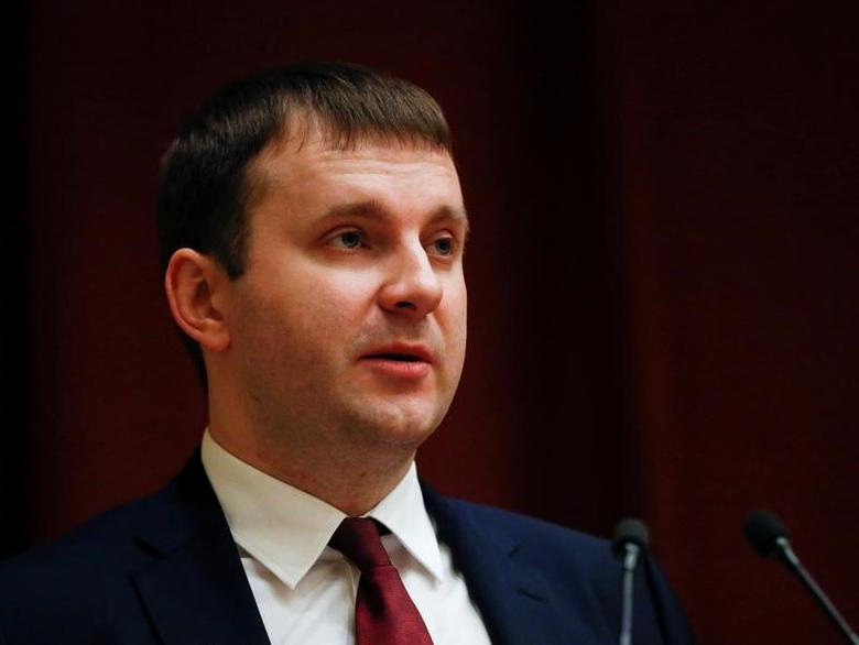 Maxim Oreshkin, Russia's newly appointed economy minister, speaks at his introduction to staff members of the ministry in Moscow, Russia December 1, 2016. REUTERS/Grigory Dukor