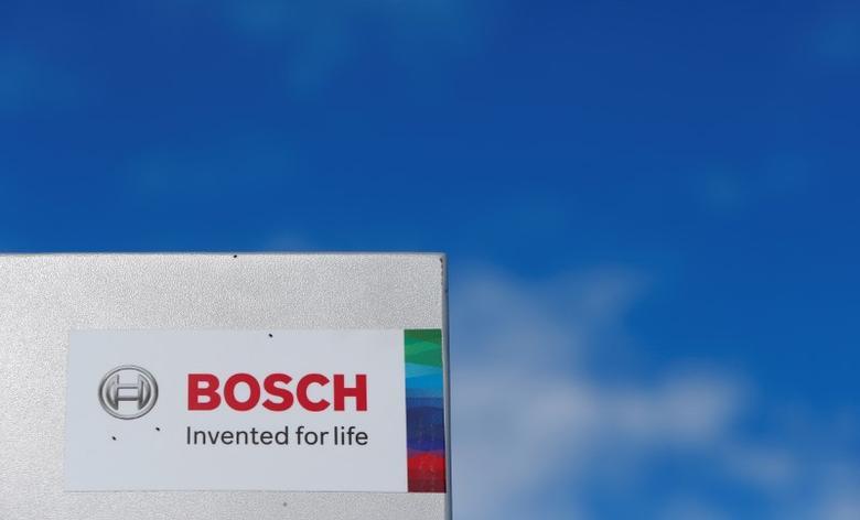 A Bosch logo is pictured in Renningen near Stuttgart, Germany July 29, 2016. REUTERS/Michaela Rehle