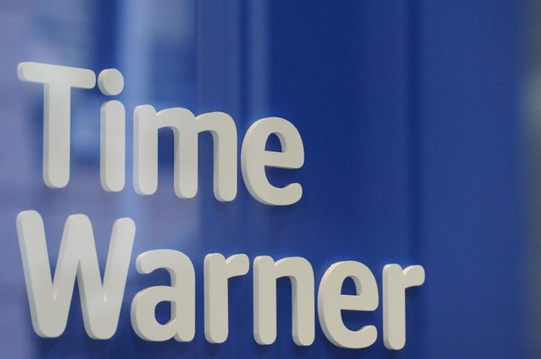 A Time Warner logo is seen at a Time Warner store in New York City, October 23, 2016. REUTERS/Stephanie Keith/File Photo