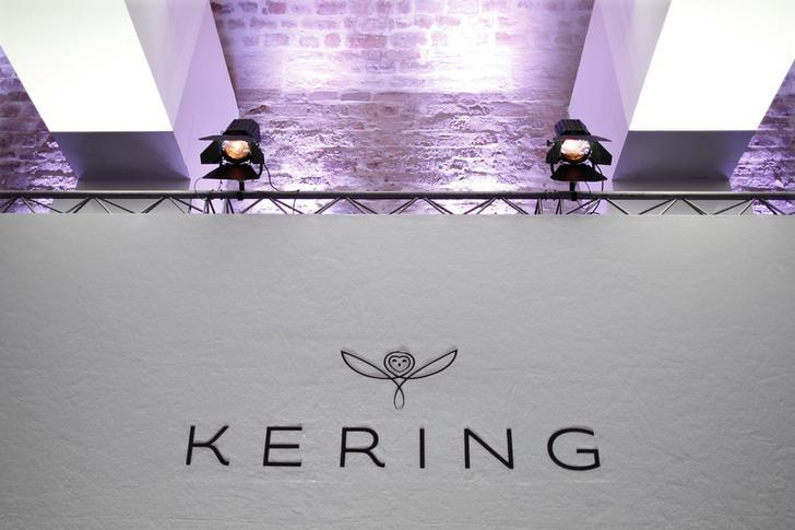 The logo of Kering is seen during the company's 2015 annual results presentation in Paris, France, February 19, 2016. REUTERS/Charles Platiau