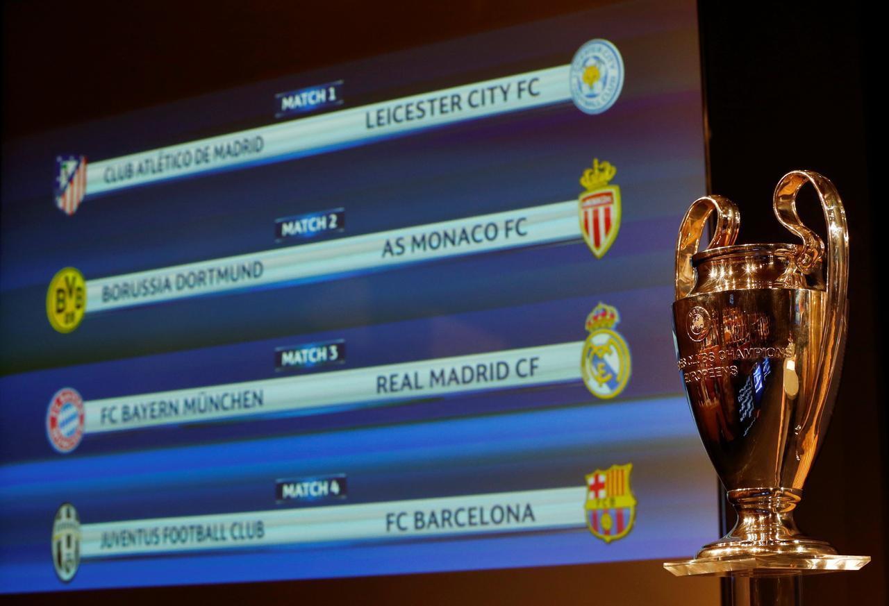 Barça-Juventus y Real Madrid-Bayern, en cuartos de la ...