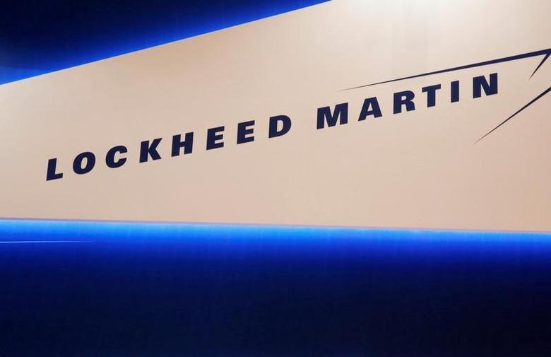FILE PHOTO -  Lockheed Martin's logo is seen during Japan Aerospace 2016 air show in Tokyo, Japan, October 12, 2016. REUTERS/Kim Kyung-Hoon/File Photo
