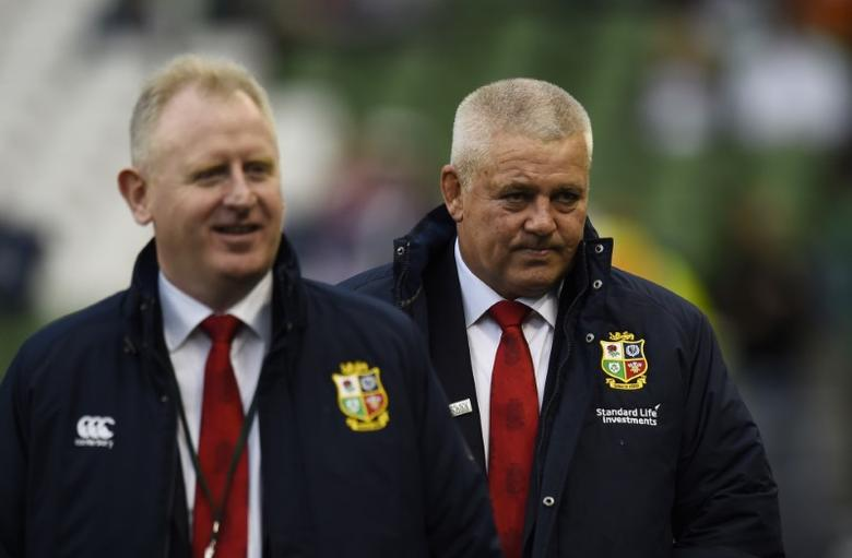Rugby Union - Ireland v England - Six Nations Championship - Aviva Stadium, Dublin, Republic of Ireland - 18/3/17 British & Irish Lions head coach Warren Gatland before the match  Reuters / Clodagh Kilcoyne Livepic