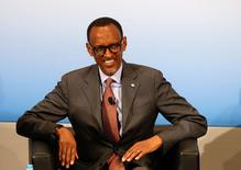 Rwanda's President Paul Kagame attends the 53rd Munich Security Conference in Munich, Germany, February 18, 2017. REUTERS/Michaela Rehle