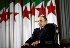 Algeiran President Abdelaziz Bouteflika during a swearing-in ceremony in Algiers April 28, 2014. REUTERS/Ramzi Boudina