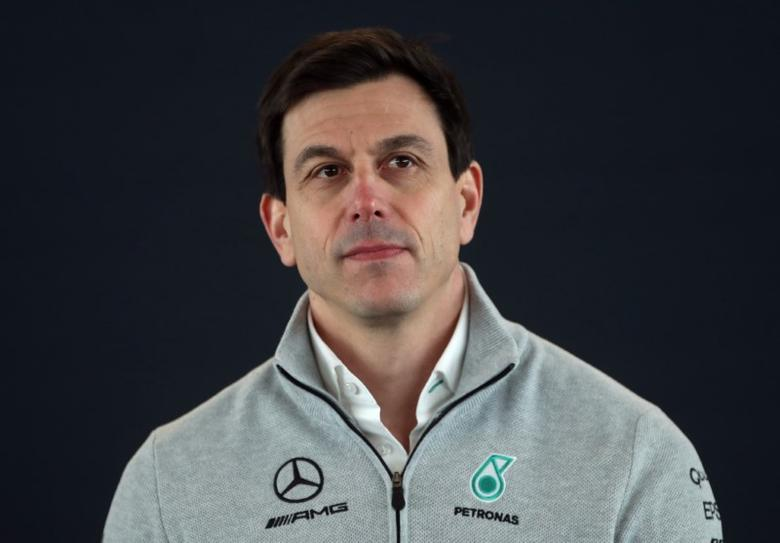 Britain Formula One - F1 - 2017 Mercedes Formula One Car Launch - Silverstone - 23/2/17 Mercedes' Executive Director Toto Wolff during the launch Reuters / Eddie Keogh Livepic