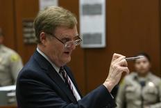 Advogado de Roman Polanski, Harland Braun, em tribunal de Los Angeles 20/3/2017     REUTERS/Frederick M. Brown/Divulgação