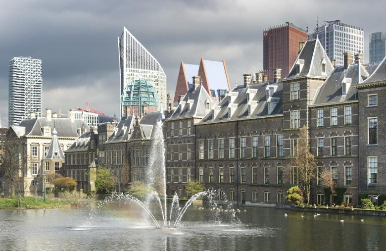 A general view shows the Dutch House of Parliament in The Hague April 24, 2012. REUTERS/Paul Vreeker/United Photos
