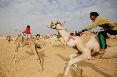 The child jockeys of camel racing