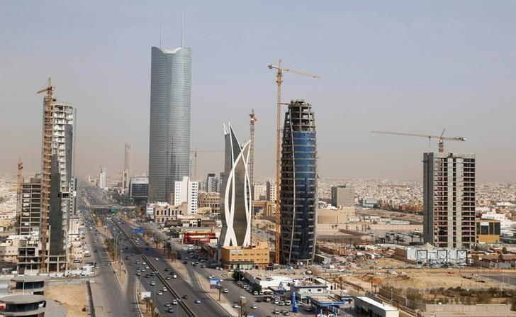 FILE PHOTO: Buildings are seen in Riyadh, Saudi Arabia, March 1, 2017.   REUTERS/Faisal Al Nasser/File Photo