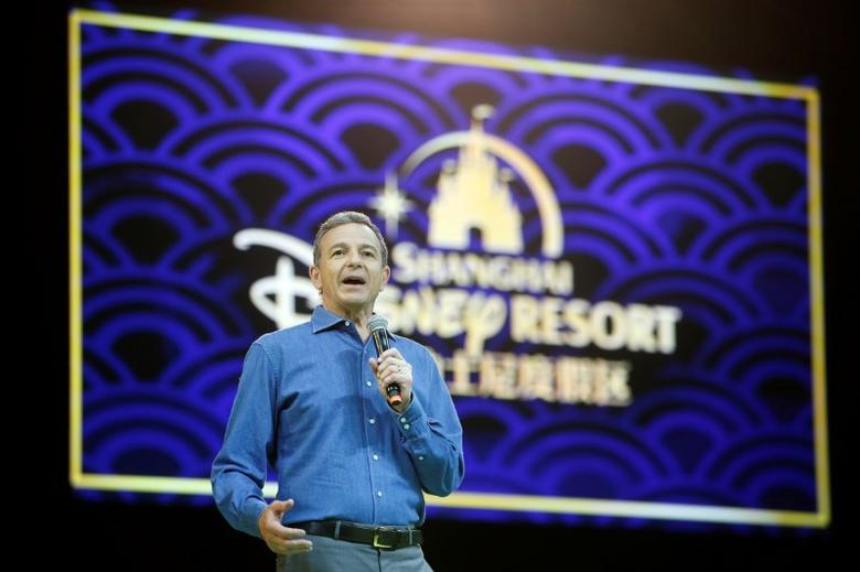 Disney's Chief Executive Officer Bob Iger holds a news conference at Shanghai Disney Resort as part of the three-day Grand Opening events in Shanghai, China, June 15, 2016. REUTERS/Aly Song/files