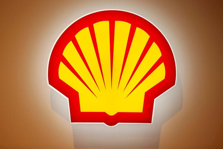 FILE PHOTO: The logo of Shell is pictured at the 26th World Gas Conference in Paris, France, June 2, 2015.    REUTERS/Benoit Tessier/File Photo