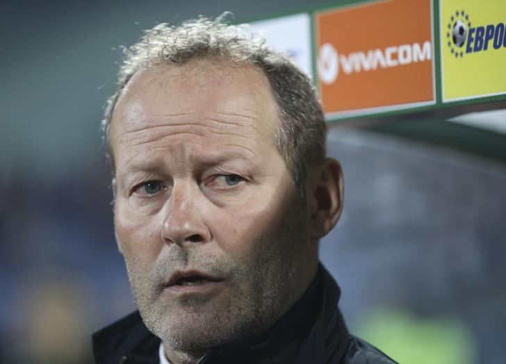 Football Soccer - Bulgaria v Netherlands - 2018 World Cup Qualifying European Zone - Group A - Vasil Levski Stadium, Sofia, Bulgaria - 25/03/17 - Netherland's coach Danny Blind before the match.   REUTERS/Stoyan Nenov