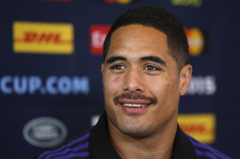 Rugby Union - New Zealand Press Conference - Oatlands Park Hotel, Weybridge, Surrey - 26/10/15New Zealand's Aaron Smith during the Press ConferenceAction Images via Reuters / Paul ChildsLivepic