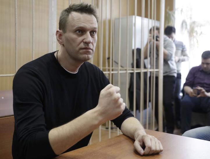 4827ce86e97 cbs46.com Russian opposition leader Navalny jailed for 15 days over protest