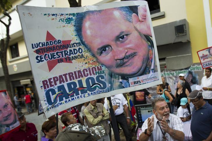 Supporters of Carlos the Jackal attend a gathering in support of him in Caracas June 28, 2013. REUTERS/Carlos Garcia Rawlins/Files