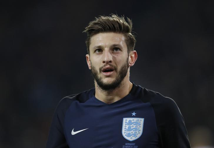 England's Adam Lallana in action  Action Images via Reuters / Carl Recine Livepic