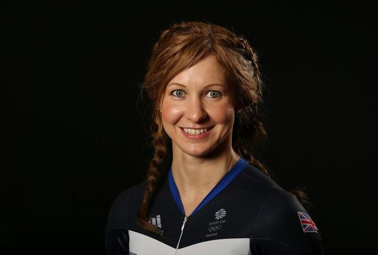Britain Cycling - Team GB - Rio 2016 Cycling Team Media Session - Celtic Manor, Wales - 25/7/16Joanna Rowsell Shand of Team GB poses for a photoAction Images via Reuters / Matthew ChildsLivepic