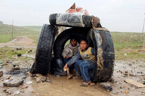 Driven from Mosul
