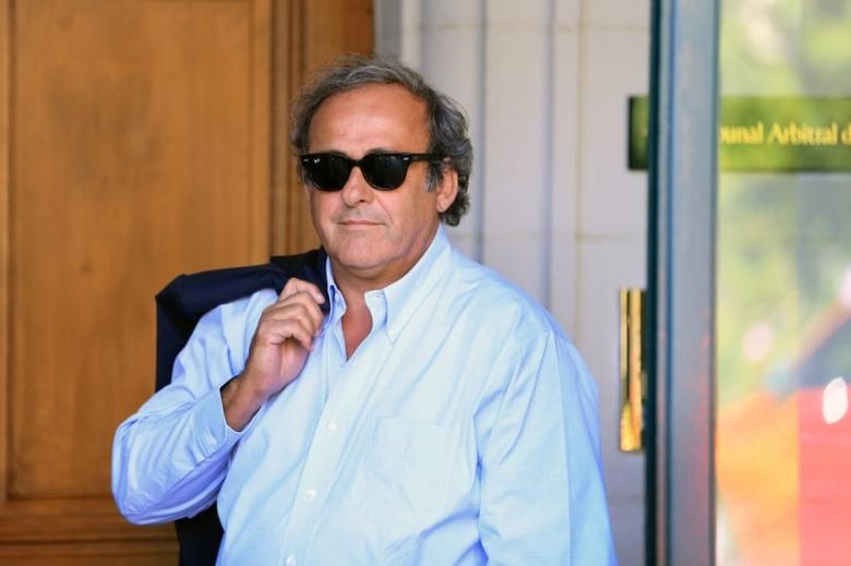 Former UEFA President Michel Platini arrives at the Court of Arbitration for Sport (CAS) to be heard in the arbitration procedure involving him and the FIFA in Lausanne, Switzerland, August 25, 2016. REUTERS/Pierre Albouy