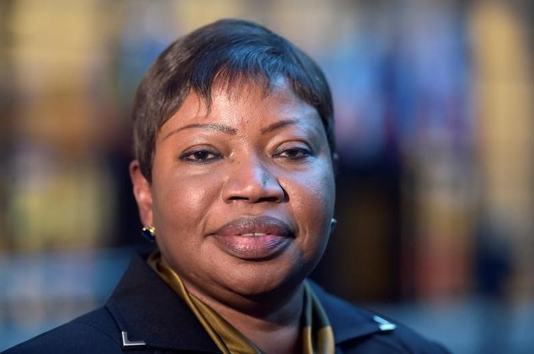 Fatou Bensouda, Prosecutor of the International Criminal Court (ICC), poses for pictures at the European Council in Brussels, Belgium, January 26, 2017. REUTERS/Eric Vidal