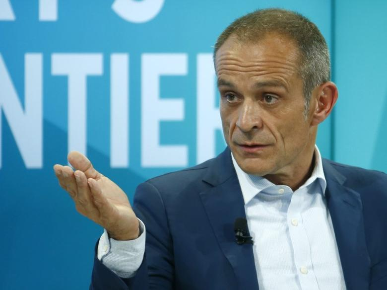 FILE PHOTO: Jean-Pascal Tricoire, Chairman and CEO of Schneider Electric attends the World Economic Forum (WEF) annual meeting in Davos, Switzerland January 19, 2017.  REUTERS/Ruben Sprich
