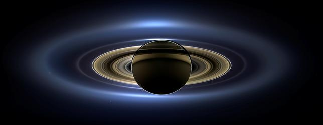 A natural-color image of Saturn from space, the first in which Saturn, its moons and rings, and Earth, Venus and Mars, all are visible, is seen in this NASA handout taken from the Cassini spacecraft July 19, 2013 and released November 12, 2013.     NASA/JPL-Caltech/SSI/Handout via REUTERS
