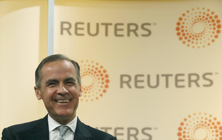 Mark Carney, Governor of the Bank of England, speaks at a Reuters Newsmaker event in London, Britain April 7, 2017.  REUTERS/Peter Nicholls