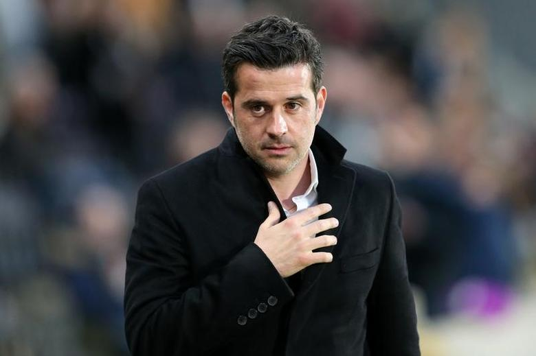 Britain Soccer Football - Hull City v Middlesbrough - Premier League - The Kingston Communications Stadium - 5/4/17 Hull City manager Marco Silva  Reuters / Scott Heppell Livepic