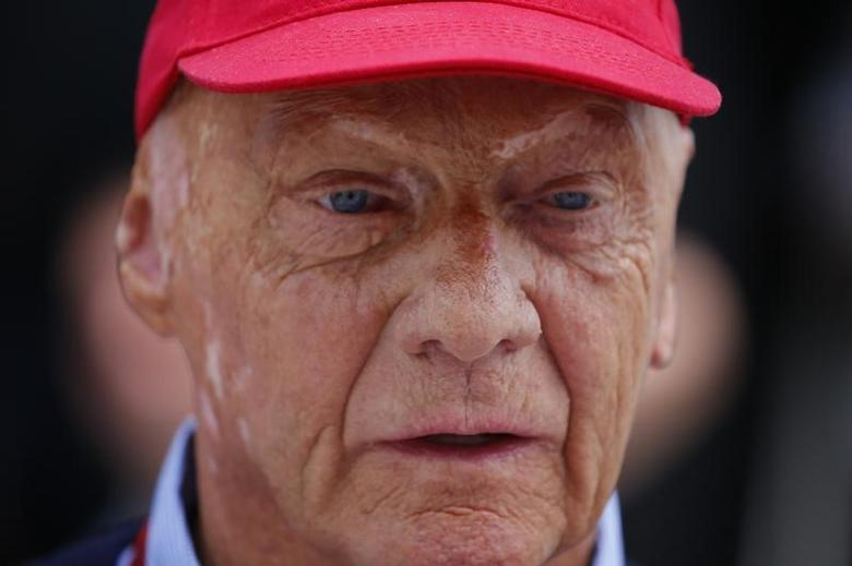 Hungary Formula One - F1 - Hungarian Grand Prix 2016 - Hungaroring, Hungary - 24/7/16 Mercedes' non executive chairman Niki Lauda Niki Lauda before the race REUTERS/Laszlo Balogh/Files