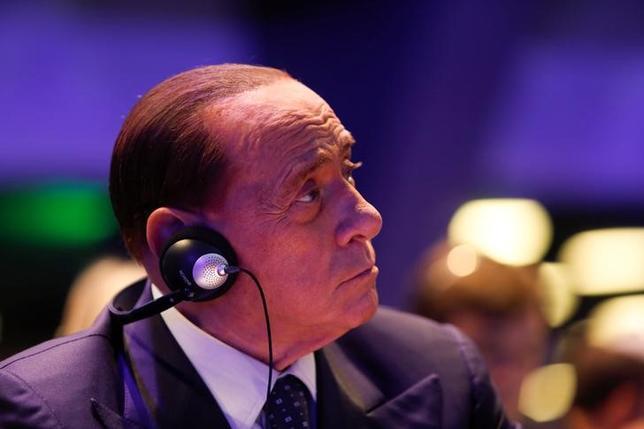 Former Italian Prime Minister Silvio Berlusconi takes part in a European People Party (EPP) summit in St Julian's, Malta, March 30, 2017. REUTERS/Darrin Zammit Lupi