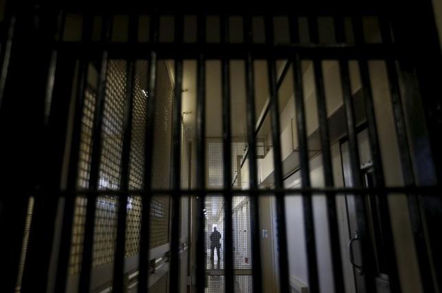 4月10日、中国が昨年、世界一の死刑執行国だったことがわかった。国際人権団体アムネスティ・インターナショナルが11日、報告書を発表した。米国では、1991年以来最少の死刑執行数だったいう。写真はカリフォルニア州のサン・クエンティン州立刑務所で2015年12月撮影(2017年 ロイター/Stephen Lam)